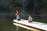 Fishing on the Dock